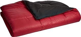 iBed Home 2BLCKRED-KING Comforter Set, Black/Red, King - 240x260 cm, 2BLCKRED-KING, 6 Pieces