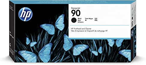 HP 90 Black DesignJet Printhead & Printhead Cleaner (C5054A) for DesignJet 4500 MFP, 4500 & 4000 Series Large Format Printers