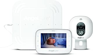 "Angelcare Baby Monitor with 4.3"" Touch Control Display and Wired Breathing Sensor Pad (AC315)"