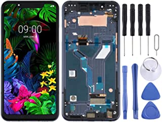SHUHAN LCD Screen Phone Repair Part LCD Screen and Digitizer Full Assembly With Frame for LG G8s ThinQ LMG810, LM-G810, LM...