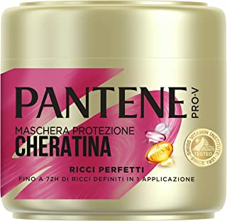 Pantene Pro-V Ricci Perfetti Maschera Protezione Cheratina Per Ricci Definiti fino a 72H in 1 Applicazione, 500ml