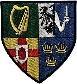 ZEGIN L'emblema Irlandese Province Scudo Stemma della Bandiera Ricamata sul Cucirmi Patch