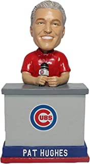 BHOF Pat Hughes Chicago Cubs 2016 World Series Talking Bobblehead MLB