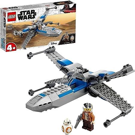 LEGO 75297 StarWars X-WingdelaRésistance Jouet Starfighter pour Les Enfants de 4 Ans et + avec La Minifigurine de Poe Dameron