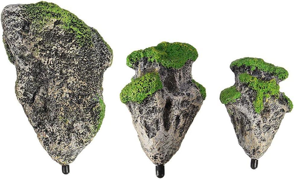 alpha-ene.co.jp XIWUYA Suspended Rock Floating Moss Resin Stones ...