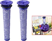 2 Pack Dyson Filter Replacements, Rimposky Washable & Reusable Pre Moter Filters for Dyson DC58, DC59, V6, V7, V8. Replacements Part # 965661-01