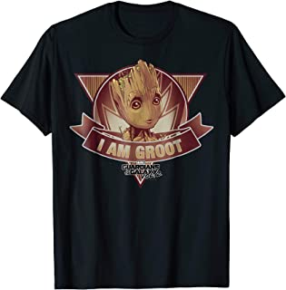 Marvel Guardians Vol. 2 I Am Groot Banner Graphic T-Shirt