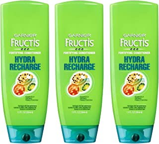 Garnier Fructis Hydra Recharge Fortifying Conditioner for All Hair Types 13 oz (Pack of 3)