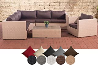 Amazon.fr : Salon Jardin Resine Tressee Marron - Beige