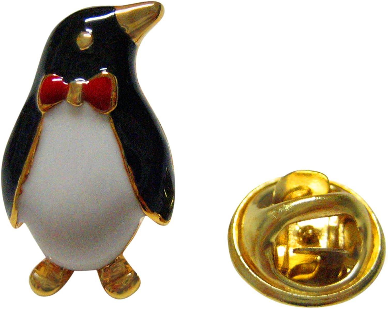 Kiola Designs Colored Penguin Lapel Pin