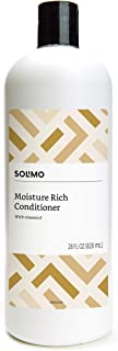 Amazon Brand - Solimo Moisture Rich Conditioner, 28 Fluid Ounce