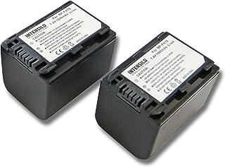Batería de repuesto para Sony DCR-SR290E DCR-SR30E DCR-SR32E Cámara 3300mAh