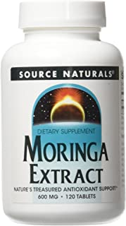 SOURCE NATURALS Moringa Extract Tablet, 120 Count