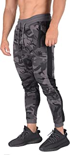 red camo joggers mens