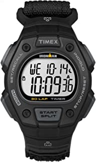 Men's TW5K908009J Ironman Classic 30 Digital Watch with Black Nylon Band