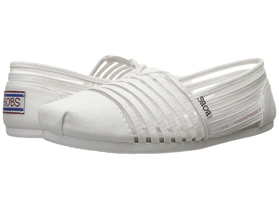 BOBS from SKECHERS Bobs Plush (White) Women