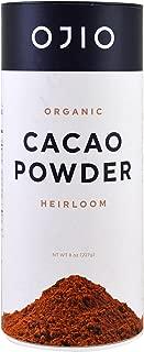 OJIO Organic CACAO POWDER Heirloom 8 oz.