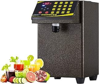 BMGIANT 110V Full stainless steel Syrup dispenser,Fructose dispenser,Bubble tea Equipments, fructose quantitative machine,Boba machines