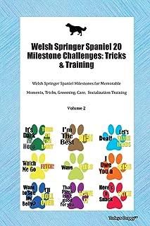 Welsh Springer Spaniel 20 Milestone Challenges: Tricks & Training Welsh Springer Spaniel Milestones for Memorable Moments, Tricks, Grooming, Care, Socialization Training Volume 2