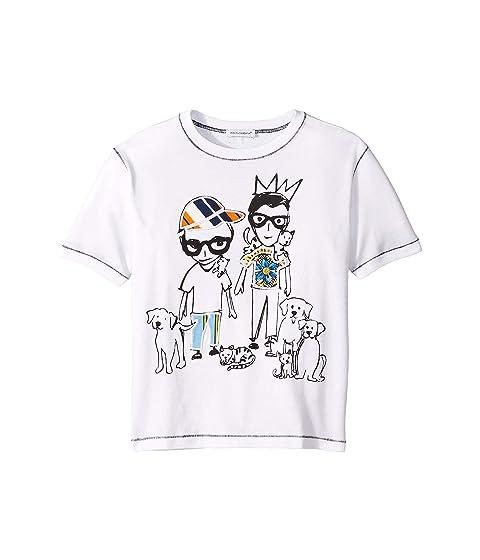 Dolce & Gabbana Kids Stylist T-Shirt (Toddler/Little Kids)