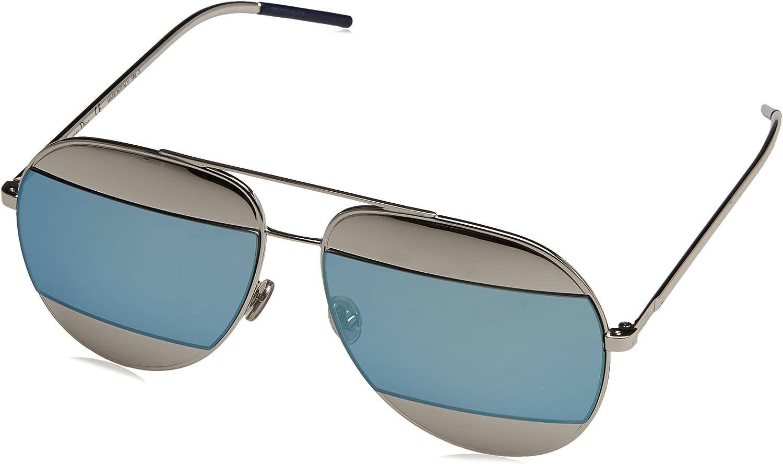 Dior DIOR SPLIT 1 PALLADIUM SILVER blueE unisex Sunglasses