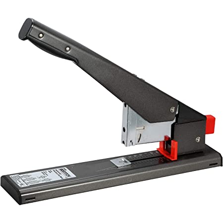 Bostitch Office Antimicrobial 215 Sheet Extra Heavy Duty Stapler, Black (00540)