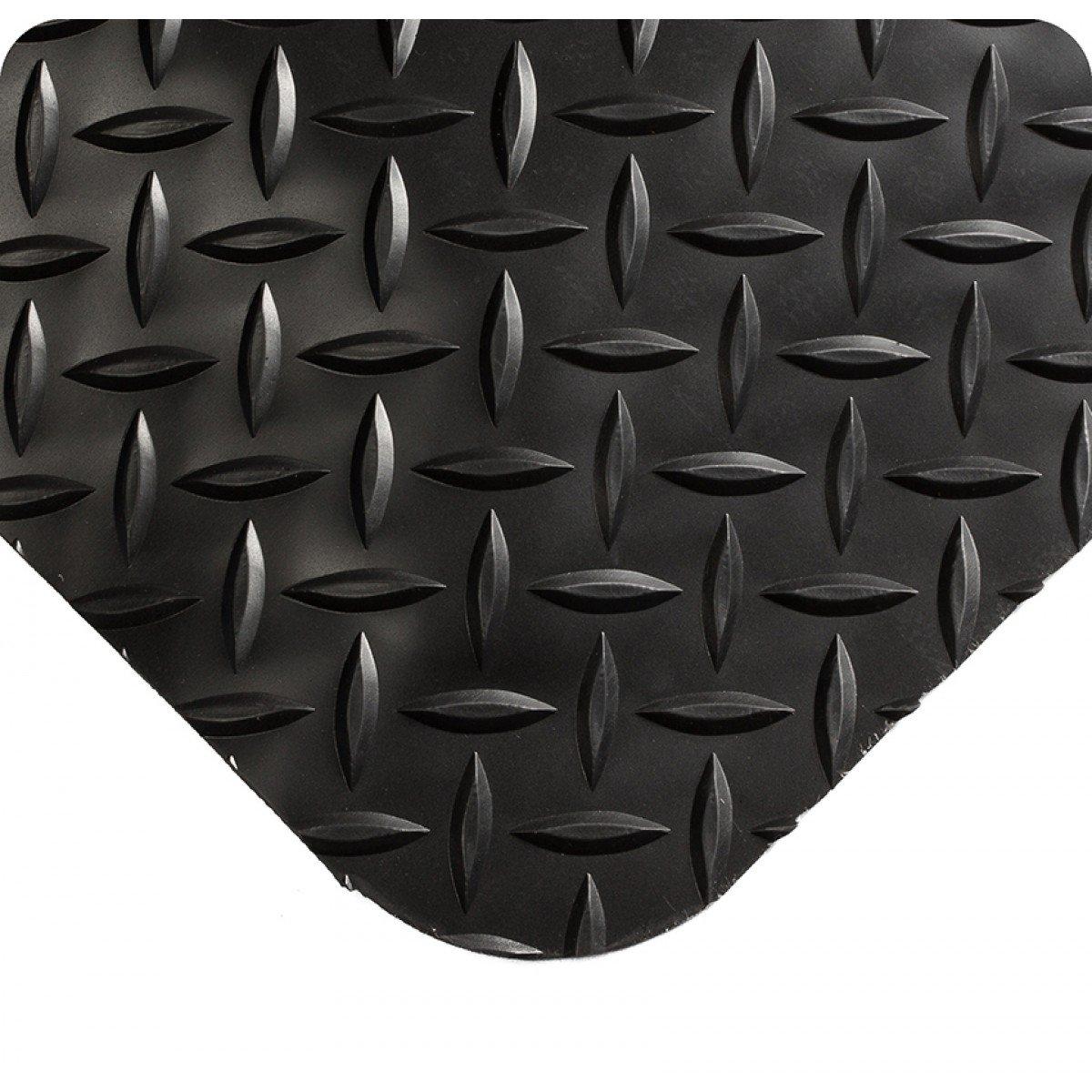 Wearwell 495.916x2x4BK Diamond-Plate 正規逆輸入品 Select Mat 4' 登場大人気アイテム Length 2' x