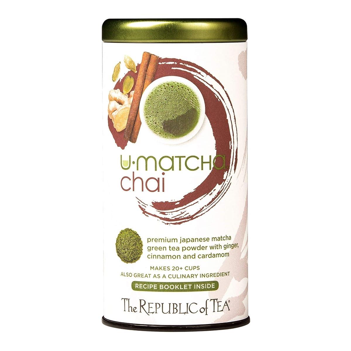 Republic Of Tea, Tea Chai U Matcha, 1.5 Ounce