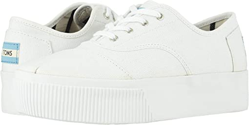 White Heritage Canvas Platform