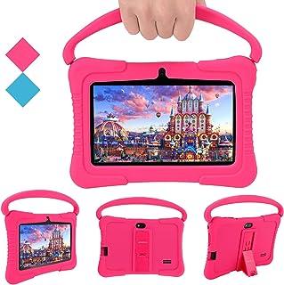 Tablet PC para niños, Tablet PC Androide Veidoo de 7 Pulgadas, 1GB RAM/ 16GB ROM, Pantalla IPS de 1024x600, aplicación edu...