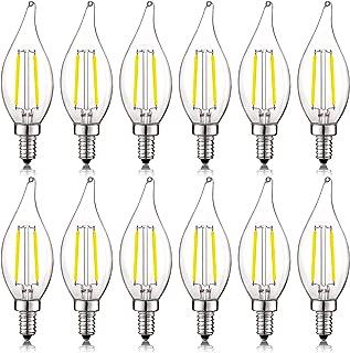 Best led 60w chandelier candelabra base daylight 5000k Reviews