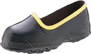 Honeywell Safety 7361-10 Ranger Rubber Men's Overboot for Metatarsal Guard Footwear, Size-10, Black