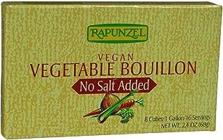 Rapunzel USA Organic Vegetable Bouillon - No Salt, 2.4 Ounce - 12 per case.