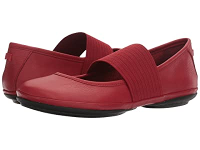 Camper Right Nina 21595 (Medium Red Leather) Women