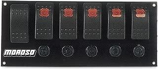 Moroso 74180 Rocker Switch Panel