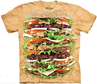 The Mountain Epic Burger Food Adult T-Shirt