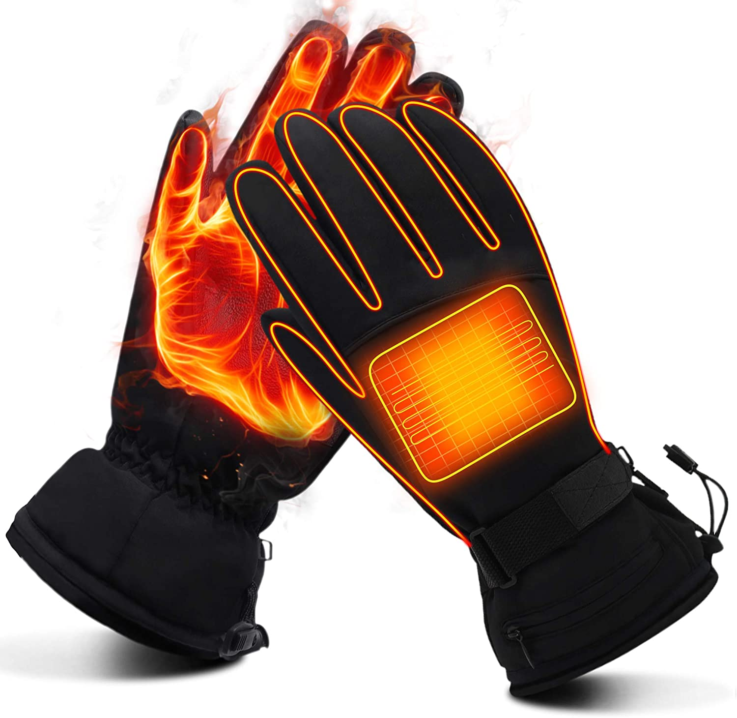 Heated Gloves for Men Sale price Women Heating Glov OFFicial Electric Battery