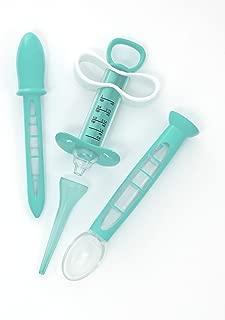 Summer Medicine Dispenser Kit, Teal/White