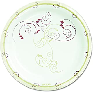 Solo MP9-J8001 8.5 in Symphony Paper Plate, Medium Weight (Case of 500)