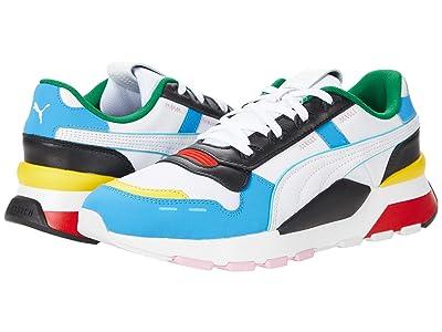 PUMA RS 2.0 Game (Puma White/French Blue/Puma Black/Empire Yellow) Shoes