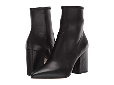 Loeffler Randall Isla Slim Ankle Bootie (Black Stretch Parma) Women