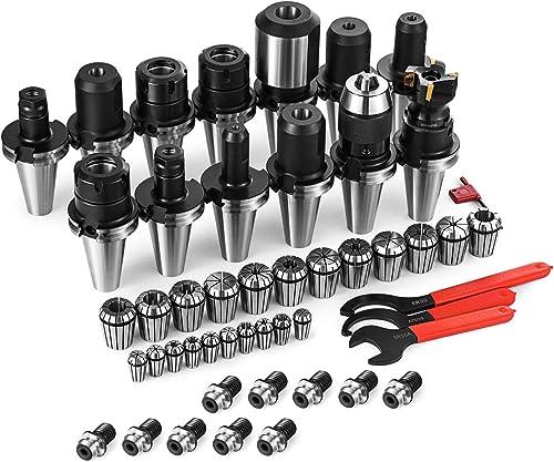 new arrival SHZOND Collet Set CNC CAT40 Tooling Package ER32 ER16 outlet online sale Collet Set Mill outlet online sale Holder Spanner Drill Chuck (collet set) sale