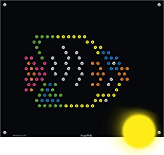 IllumiPeg Under The Sea Refill templates for Basic Fun Lite Brite Ultimate Classic Toy (10 Sheets, 7x8)