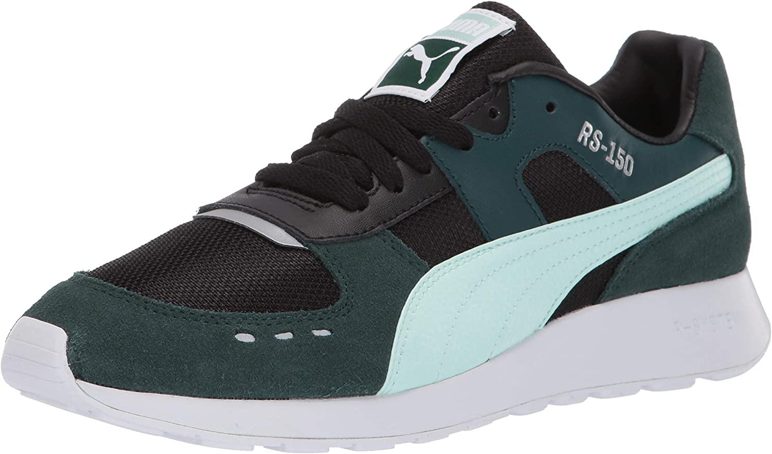 PUMA Womens Rs-150 Mesh Sneakers Shoes Casual - Green
