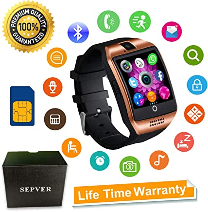 Smart Watch, SN06 Smartwatch with Touch Screen Camera SIM...