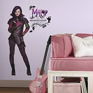 RoomMates Descendants Mal Peel And Stick Giant Wall Decals