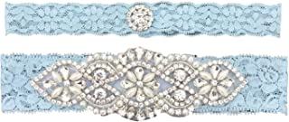 2019 Sexy Lace Wedding Garters for Bride Party Prom Garter Set 2 Pcs
