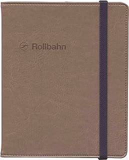 ロルバーン ポケット付メモ(L)用カバー【ダークブラウン】 500597-178