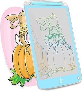 HOMESTEC Tableau d'écriture LCD Écran Transparent 10 Pouces pour Enfants à Partir de 3 Ans pour la Peinture, Le Dessin, la...