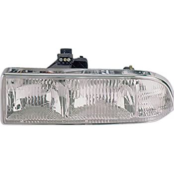 TYC 12-5054-01 Chevrolet Front Driver Side Replacement Parking//Signal Lamp Assembly without Fog Light
